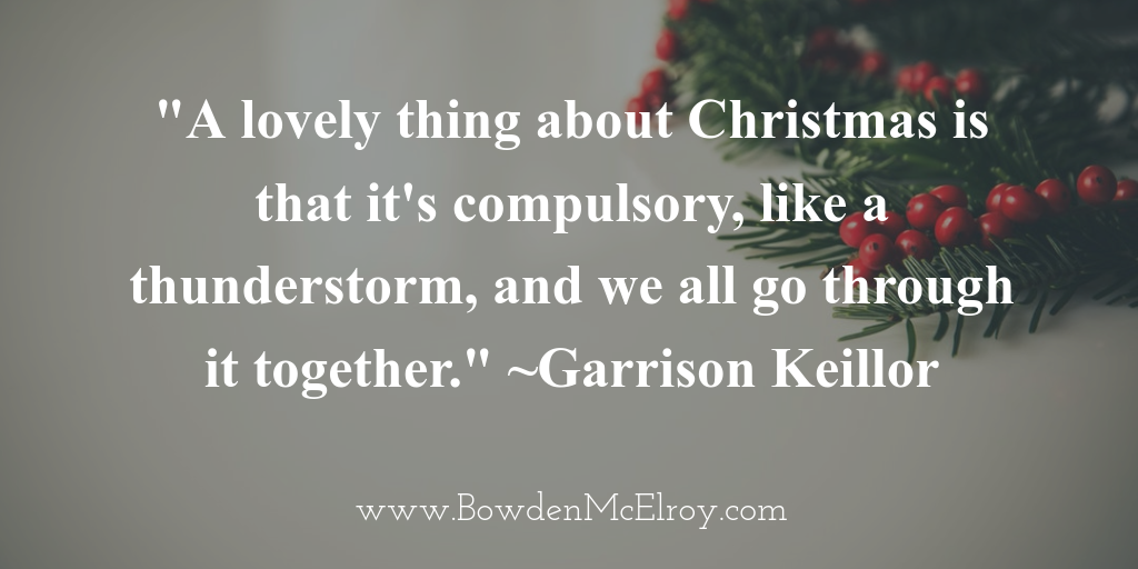 Managing Holiday Stress - quote